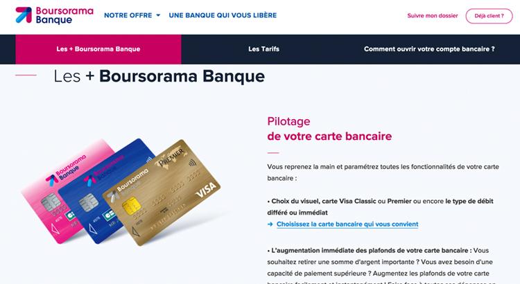Carte Bancaire Boursorama.La Carte Visa Premier Chez Boursorama Des 1800 De Revenus