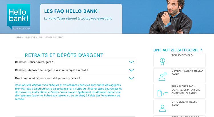 Depot Especes Hello Bank Gratuit Et Illimite Dans Le Reseau Bnp